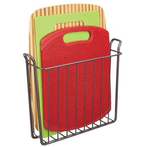 Metal Wall Mount Magazine Rack and Kitchen Storage
